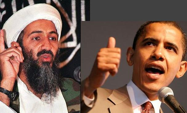 in laden and obama osama in. And on Friday, Barack Obama